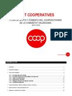 2.1. FENT COOPERATIVES Primer Plan Bienal de Apoyo y Fomento Del Cooperativismo CV 2018 2019 Definitivo