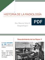 Clase 1 Historia de La Radiología