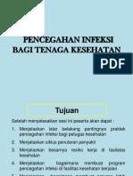 Pencegahan Infeksi Bagi Tenkes