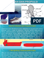Presentatasi Tugas Tahanan dan Propulsi Kapal ( 201470006 )