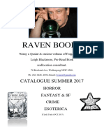 Raven Books Summer 2017 - Leigh Blackmore