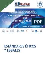 Presentación APA Estándares Éticos