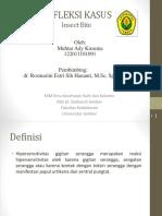 Refleksi Kasus Insect Bite