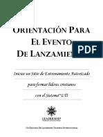 Manual de Lanzamiento (Orientation)