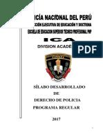 Derecho de Policia