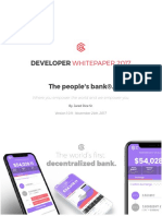 AriseBank - Developer Whitepaper 2017