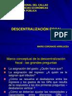 La Descentralizacion Fiscal