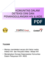 Askep Komunitas Dlm Deteksi Dini HIV