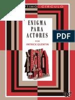 17 - Enigma Para Actores - Patrick Quentin-1