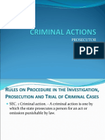 Criminal Actions