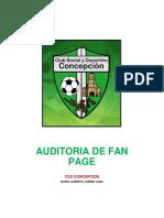 Auditoria de Comunicación Del Club Social y Deportivo Concepcion