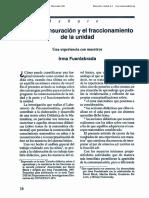 1991 0EC La Conmesuración y El Fraccionamiento de La Unidad