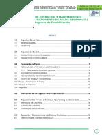 Manual O&M Lagunas de Oxidacion -SALPO