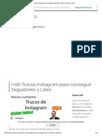 Trucos Instagram Para Conseguir Seguidores y Likes Por Marcos Séculi
