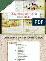 Cómo Comentar Un Texto Histórico
