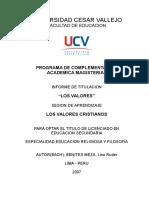 Universidad Cesar Vallejo.