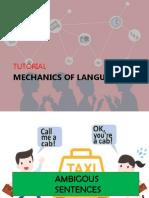 Mechanics of Language