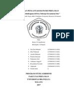 Laporan Pengantar Ekonomi Pertanian Al