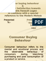 Customer Buying Behaviour