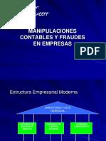 Manipulaciones y Fraudes Contables UNI[1]