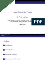 yield_criteria Tresca & Von mises.pdf