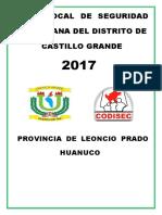 Plan Local Codisec Castillo Grande 2017