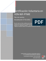 Plan de Cuenta Ven-nif-pyme