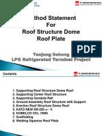 Roof Structur Method Statement - Copy1