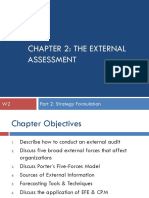 CHAPTER 2 the External Assessment