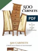 500 Cabinets - A Showcase of Design & Craftsmanship