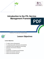 ITIL Foundation Introduction