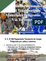 Normativas Nacionales para el Transporte de Materiales Pelig.ppt