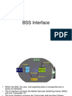 BSS Interface(A,A-ter&A-bis) with time slots detail