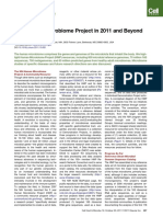 The Human Microbiome Project in 2011 and Beyond