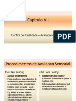 7. Avaliacao Sensorial
