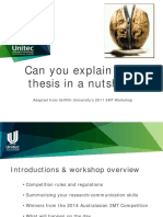 3 Minute Thesis Workshop Students1