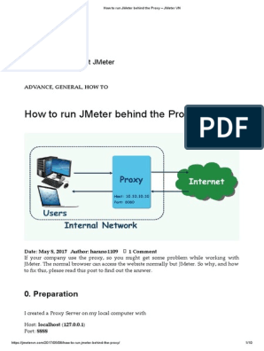 How to Run JMeter Behind the Proxy – JMeter VN   Proxy
