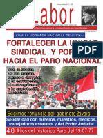 LABOR 9 Periódico Oficial de la CGTP - Julio 2017