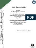 Analisis Granulometrico