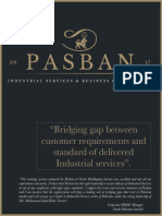 Company Profile - Pasban Industrial Services and Business Consultancy (SMC - Private) Limited