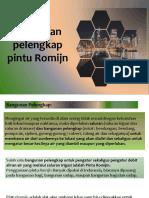 11. Analisis Bangunan Pelengkap Romijn