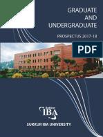 Sukkur IBA Prospectus 2016-17 Combined