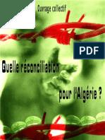 Réflexion sur Reconciliation en Algérie