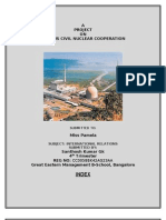 A Project Report on IndoUS Nuclear Deal(IR)