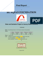 Final Report for Damang Water Project