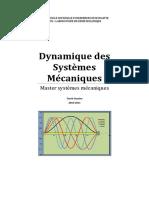 Cours-Dynamique Des Systèmes Mécaniques_MC
