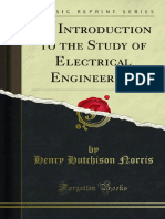 An Introduction to the Study of ElectricalEngineering
