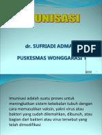 Imunisasi Pkm Wong 1
