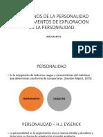 Trastornos de La Personalidad e Instrumentos de Exploracion Expo