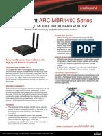 Arc Mbr1400 Datasheet